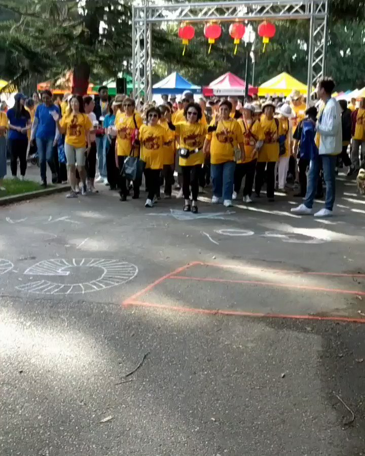Thank you all for joining us in the 2019 #MidAutumnFestival & Generation 👣 Walk for Wellness at #SanMateo Central Park.🏮#安老自助處