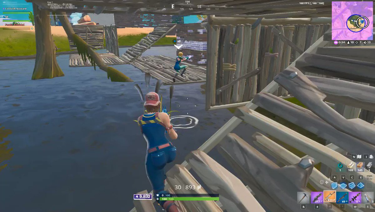 When you trying to find your knock in Moisty Palms..