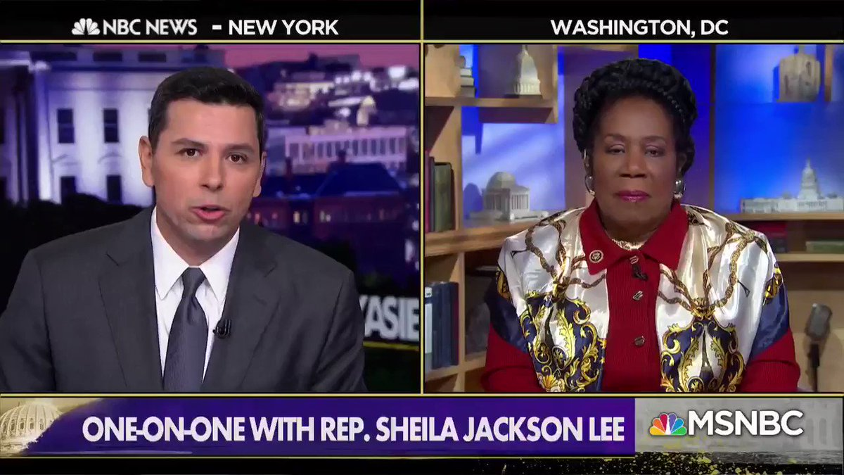 """I certainly believe there should be an investigation."" - @JacksonLeeTX18 on if there should be an investigation into the level of work the FBI did on vetting Supreme Court Justice Kavanaugh. https://t.co/ATQZIHoKMw"
