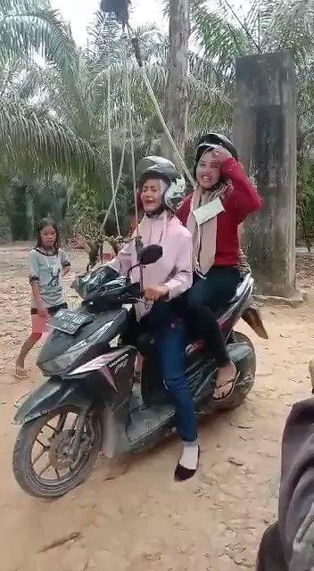 indonesia's flying fox @OnlyInINDONESIA