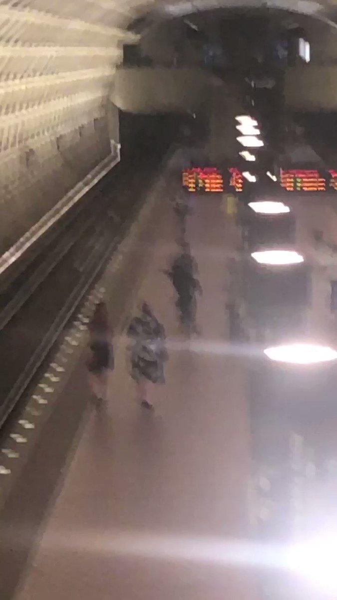 Man pushed onto Metrorail tracks by youths, Metro spokesman says