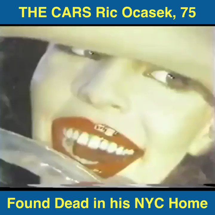 Retweet THE CARS Ric Ocasek, 75 Sadly Found Dead in his NYC Home! Rock & Roll Hall of Fame lead of The Cars died of natural causes. Share with your friends a rare 1978 Philly interview of Ric speaking of The Cars' Debut 6M-Selling Album for 139 weeks! foxnews.com/entertainment/…