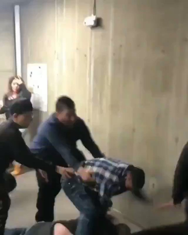 Bizarre Fight Involving Vomit Goes Viral. The Video Is Absurd