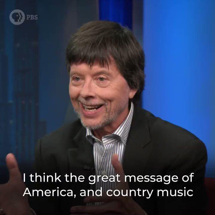 .@KenBurns joins @WalterIsaacson to discuss his new film, #CountryMusicPBS @PBS