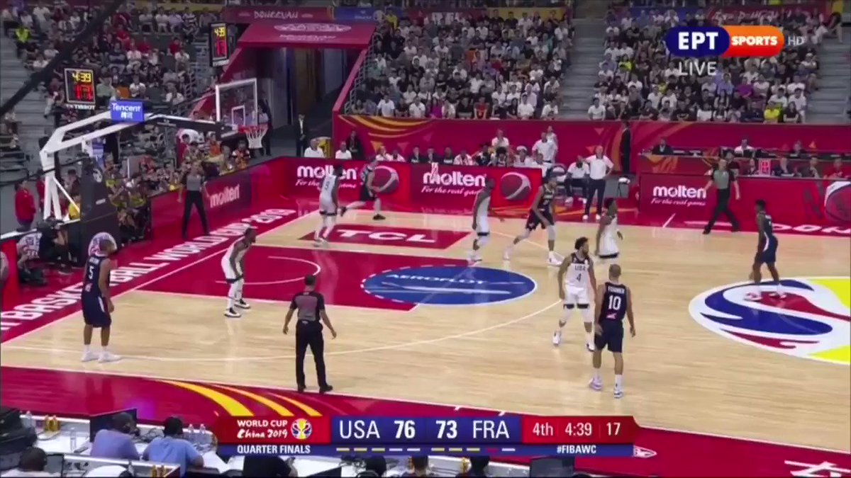 Strong World Cup showing for Frank Ntilikina: 8.9 PTS, 2.4 REB and 2.6 AST in 19.6 MIN while shooting 57.7% from 2 and 36.4% from 3. Made a lot of shots off the bounce, looked more creative around the rim, defended as always. Has positive momentum heading into his 3rd NBA season.
