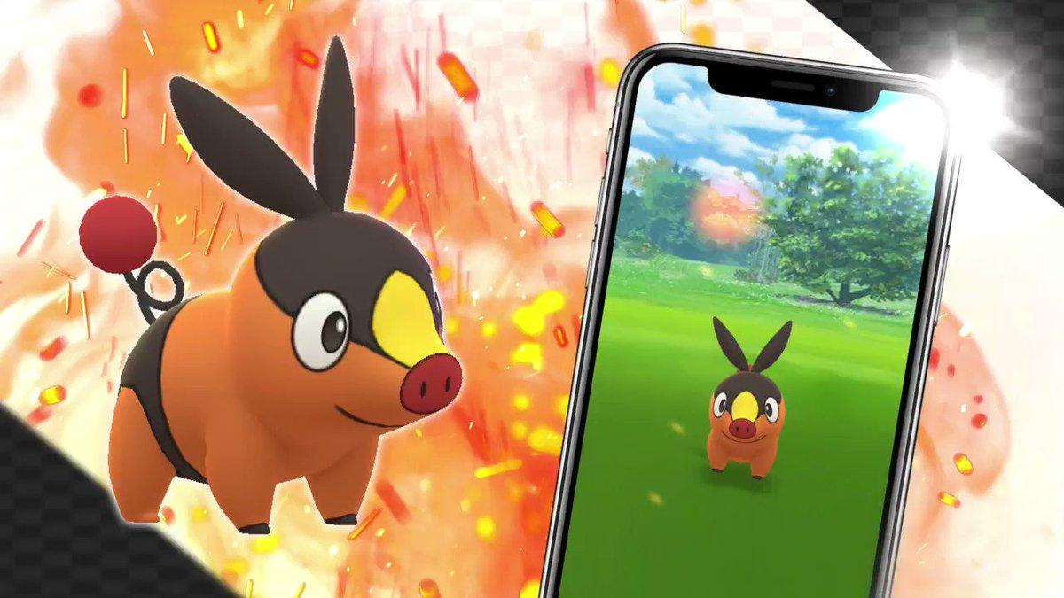🔥🐷🔥 Tepig, the Fire Pig Pokémon, has arrived in the world of Pokémon GO! 🔥🐷🔥 twitter.com/PokemonGoApp/s…