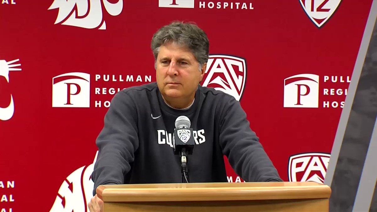 🚨FAN QUESTION OF THE WEEK ALERT🚨PAC-12 play begins this week for @WSUCougarFB - So for the Question of the Week.. I asked @Coach_Leach if all the mascots in the conference met up in a battle royale, which would come out on top? @SWXRightNow
