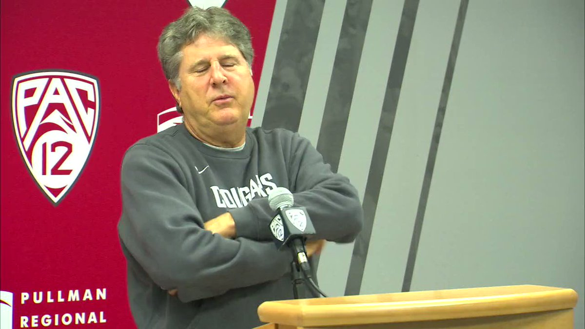 Mike Leach breaking down a Pac-12 mascots fight is quality content