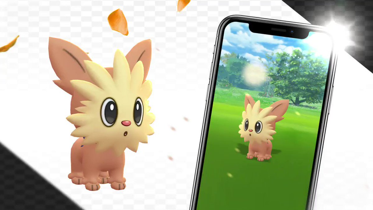 🐶 Lillipup, the Puppy Pokémon, has arrived in the world of Pokémon GO! 🐶 ✨ Time to be its best friend!