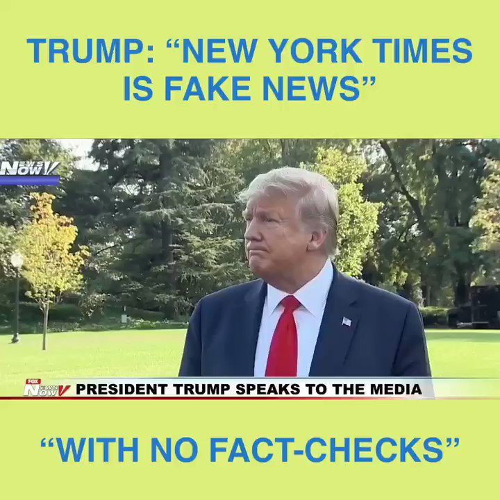 "Retweet if you see @NYTimes is FAKE NEWS with NO FACT-CHECKS! @realDonaldTrump Times Issues Major Retreat On Its FAKE #BrettKavanaugh Story! Fmr @Yale ""female student declined interview & friends say she doesn't recall incident"" of WRONGFUL ACCUSATIONS! nymag.com/intelligencer/…"