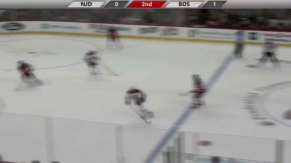Jack Hughes Rockets Home His First NHL Goal