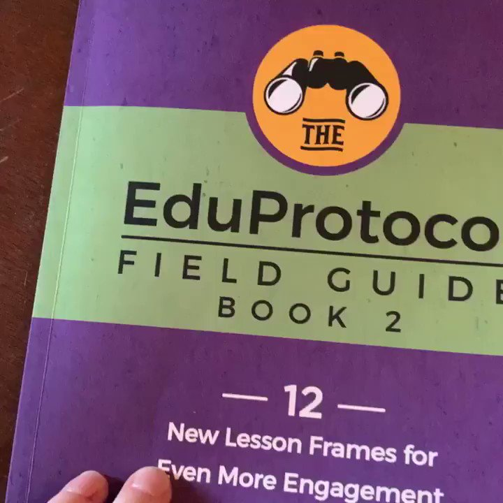 Loving the gift I came home to @mhebern @jcorippo #eduprotocols