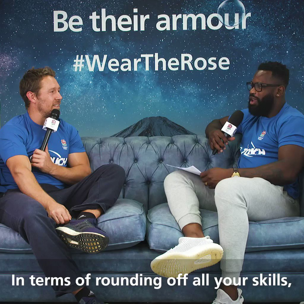 HERES JONNY 🙌😍 @JonnyWilkinson opens up to @ugomonye on childhood obsessions, struggling to get out onto the pitch and kicking practice in this weeks episode of the England Rugby Podcast: O2 Inside Line 🎙 Listen and subscribe 📲 bit.ly/34Ywe5A #WearTheRose