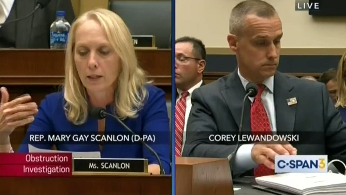 When I asked Mr. Lewandowski if he recalled the president indicating that he would support his Senate campaign, he said he wasn't sure.   When Mr. Lewandowski asked for recess during this hearing, he launched his campaign website via Twitter.   #CultureOfCorruption https://t.co/kwln9wOT2e