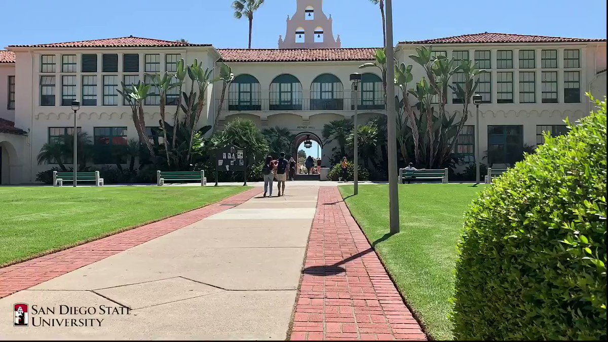 A sunny view by Hepner Hall 😎☀ #TimelapseTuesday