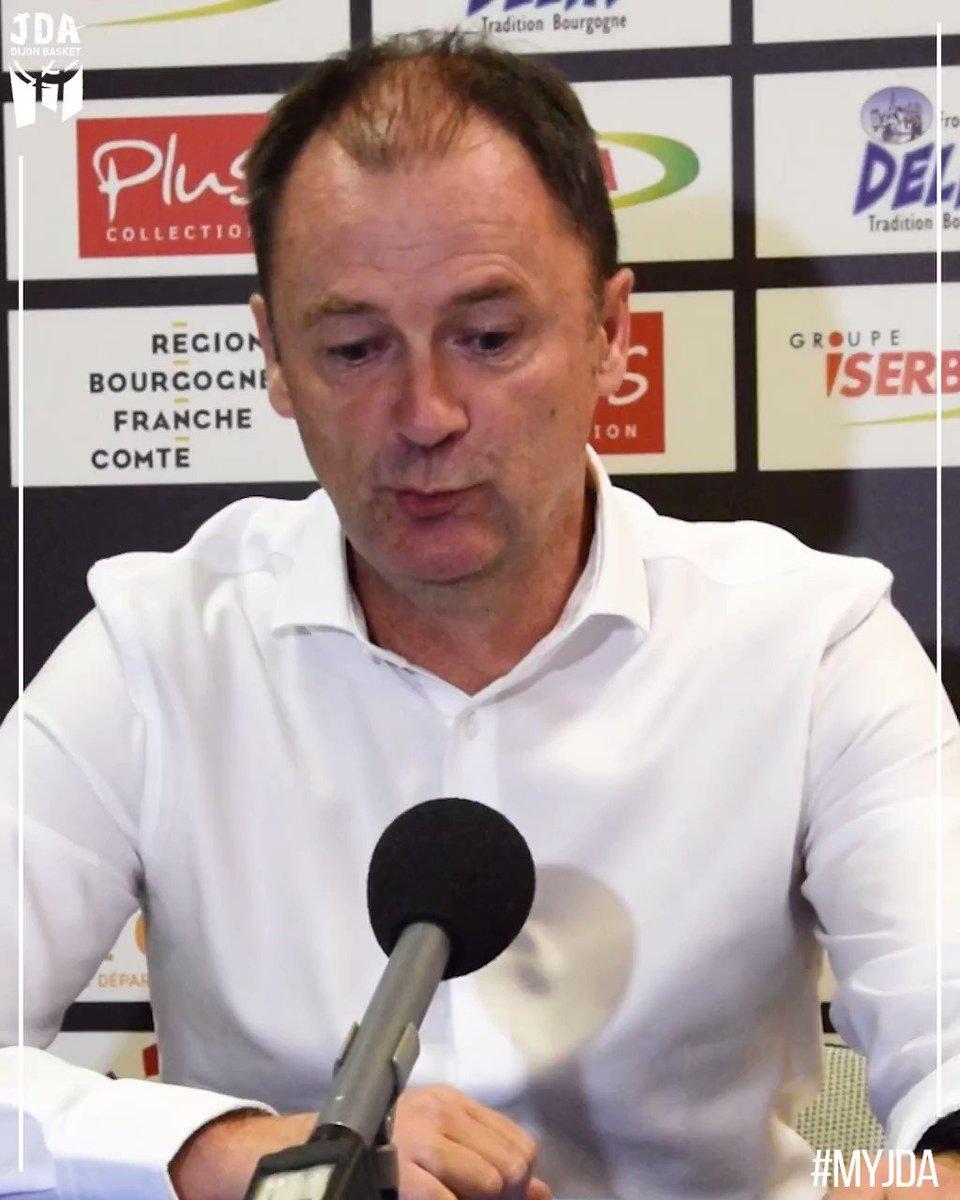 Image for the Tweet beginning: 🎥  Le coach d'un