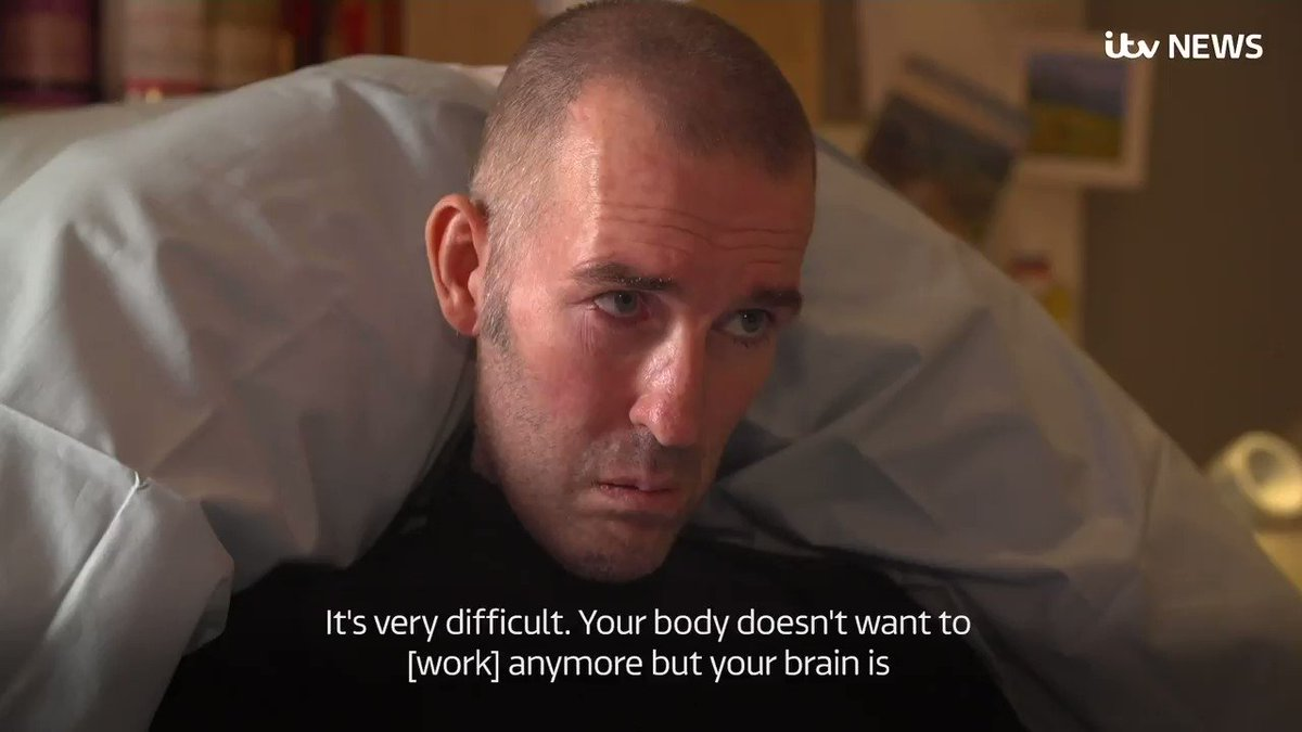 Former @RangersFC player Fernando Ricksen has died after living with motor neurone disease. In his final TV interview, he told ITV News Scotland Correspondent @PeterAdamSmith about his struggle dealing with the gradually progressing illness. More: itv.com/news/2019-09-1…
