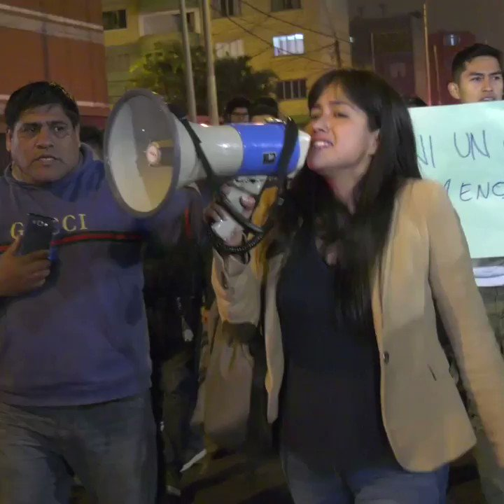Students take control of the San Marcos University in protest against their authorities #Peru #Lima2019 #estudiantes #UNMSM #Protesta https://t.co/5pJ1xHa3OI