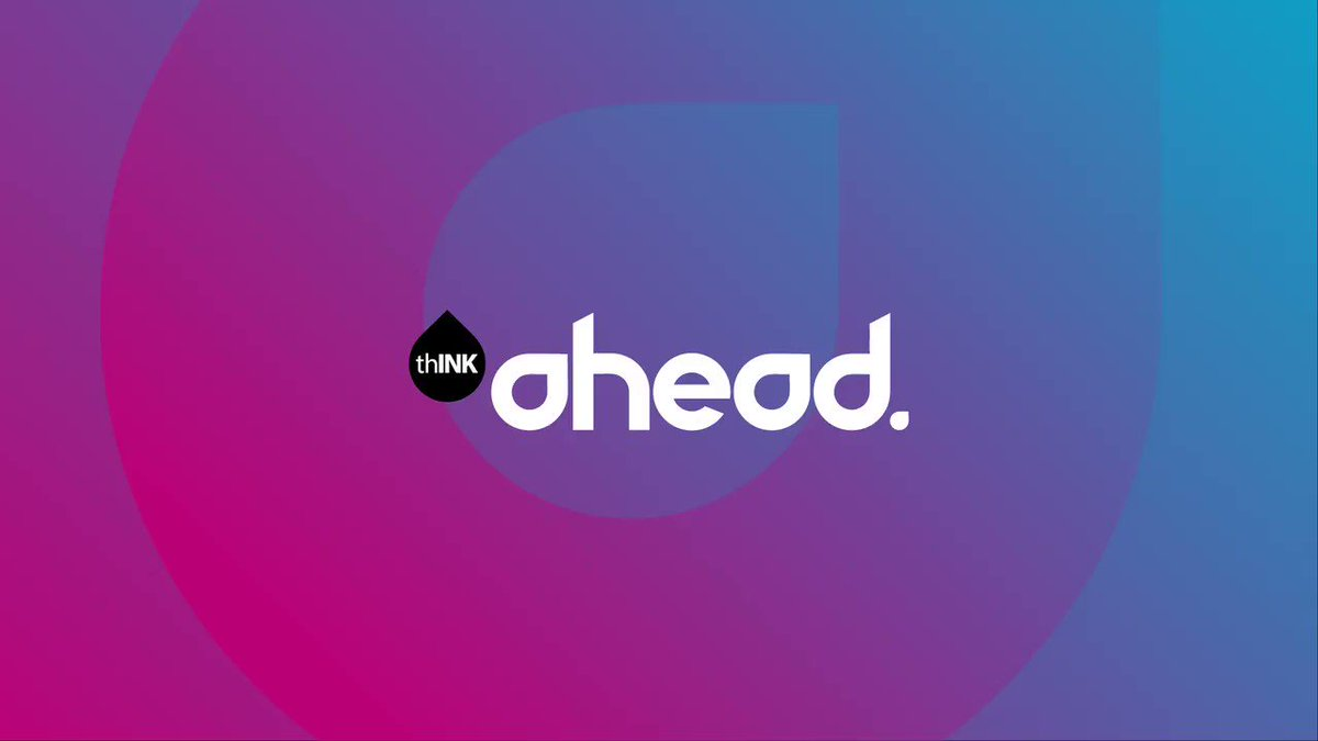 And that's a wrap! Thank you to all who made #thINKAhead2019 so vibrant! Let's stay in the #inkjetmindset until next year's conference! Save the date for Aug. 31st-Sept. 2!
