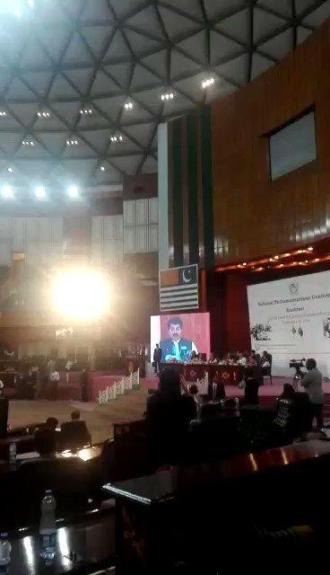 National Parliamentarian Conference on Kashmir. 🇵🇰#PresidentAlvi #SenateChairman
