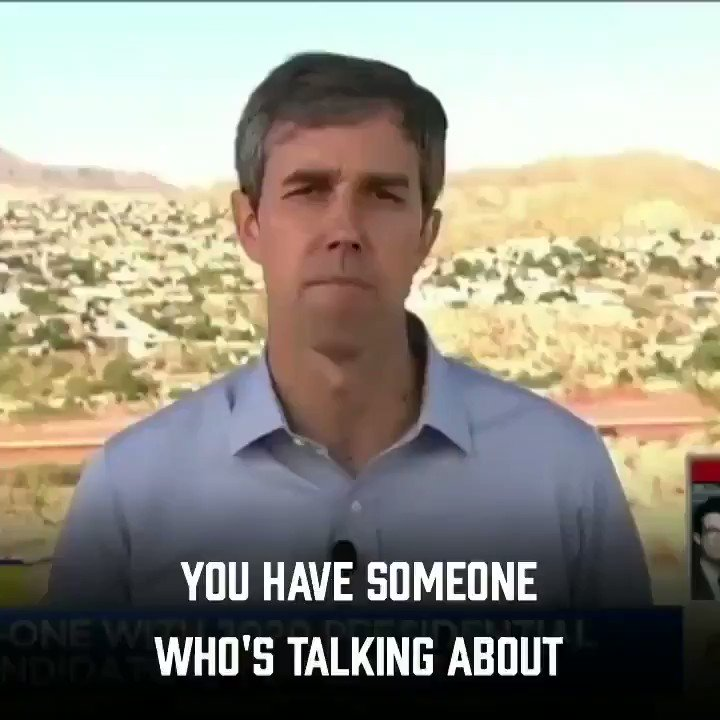 Trump picked a fight w the smartest guy in the room Pretty sure Trump is mad bc Dummy Beto called Trump a White Supremacst Beto ORourke is right, Our President is a White Supremacst Dont take my word for it. Listen to Trumps own words Im a proud supporter of @BetoORourke