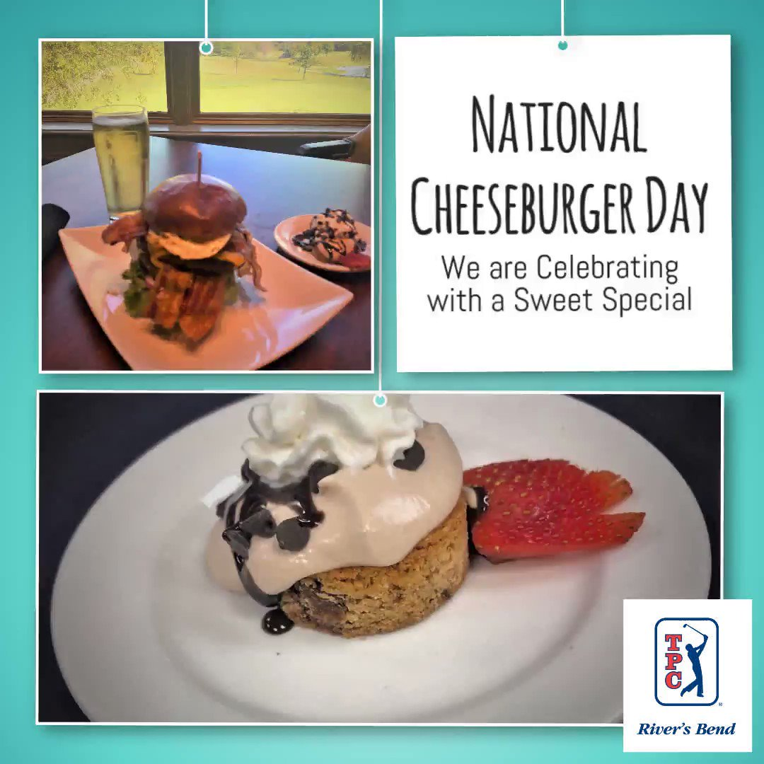 Image for the Tweet beginning: Happy National Cheeseburger Day: Join us