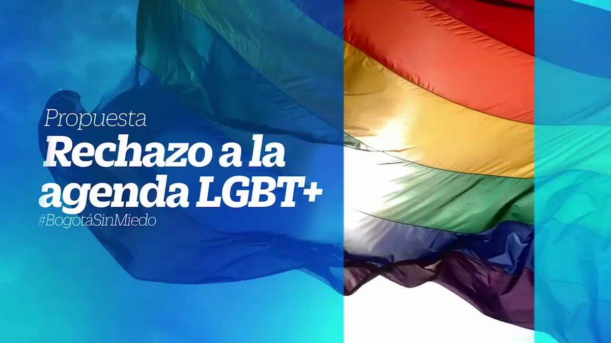 Desde el Concejo de Bogotá vamos a trabajar por la defensa de la familia, para que no nos sigan imponiendo la Agenda LGBT+   Yo defiendo la vida, la educación en valores y las familias.  #BogotáSinMiedo #ConcejoConservador7