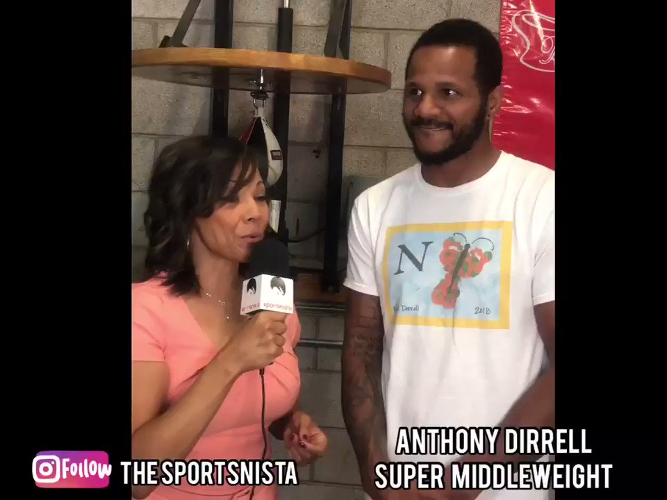 Talked with @Anthonydirrell ahead of his clash with David Benavidez on the 28th. He had some words of support for the @LVAces and @wnba. Ya heeeeerd. #AnthonyDirrell #benevidezdirrell #wnba  #lvaces #wnbaplayoffs #RecognizeGame  @LVSportsBiz @MikeDixon__  @GirlChatSports #boxing