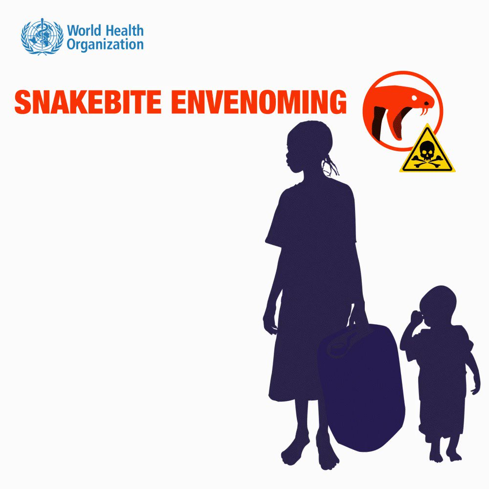 Today is #SnakebiteAwarenessDay🐍 Venomous #snakebite is a potentially life-threatening disease due to venom poisoning following the bite of a venomous 🐍. It can also be caused by having the snake venom sprayed into the eyes bit.ly/Ssssnake