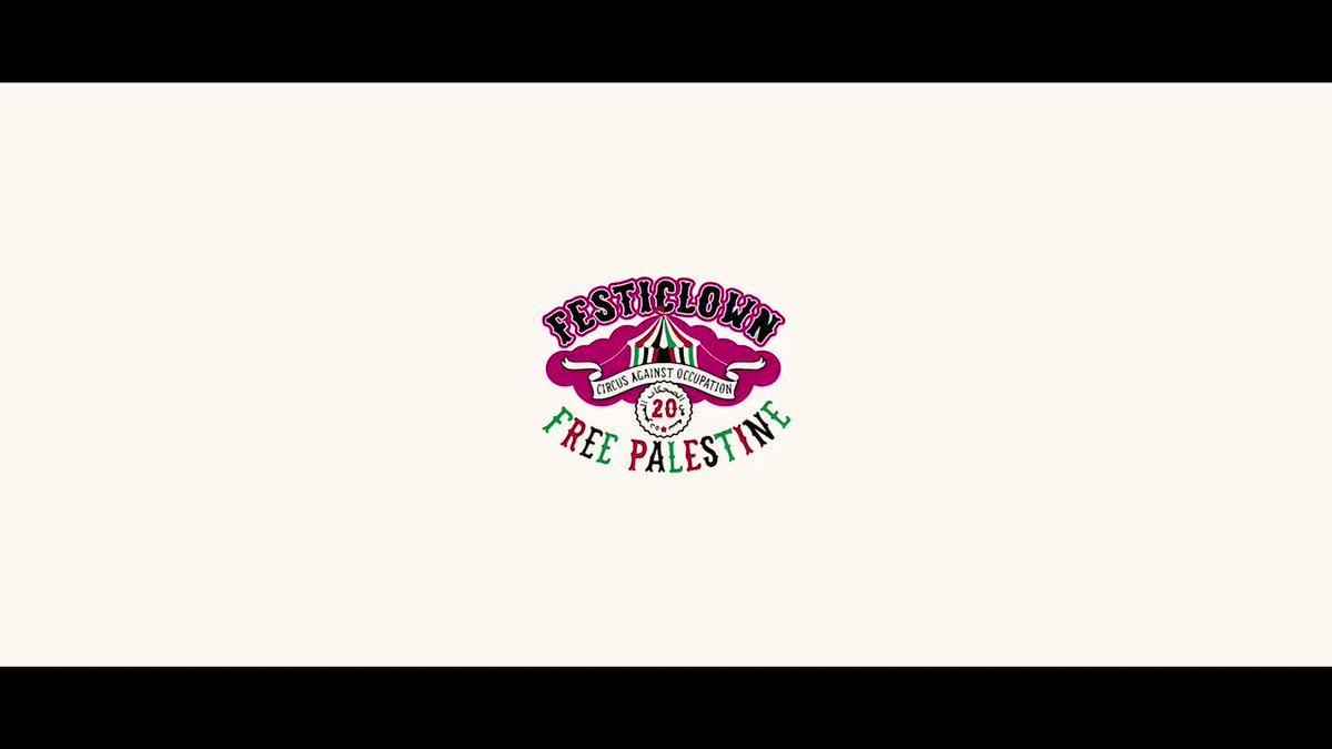 No hay mejores representantes de una ciudad que sus jóvenes. #Rivas mantiene viva la solidaridad con Palestina. #FreePalestine 🇵🇸 ✌🏽Gracias @en_rebeldia por ser las mejores compañeras de viaje 🤡 😍 #FesticlownPalestina
