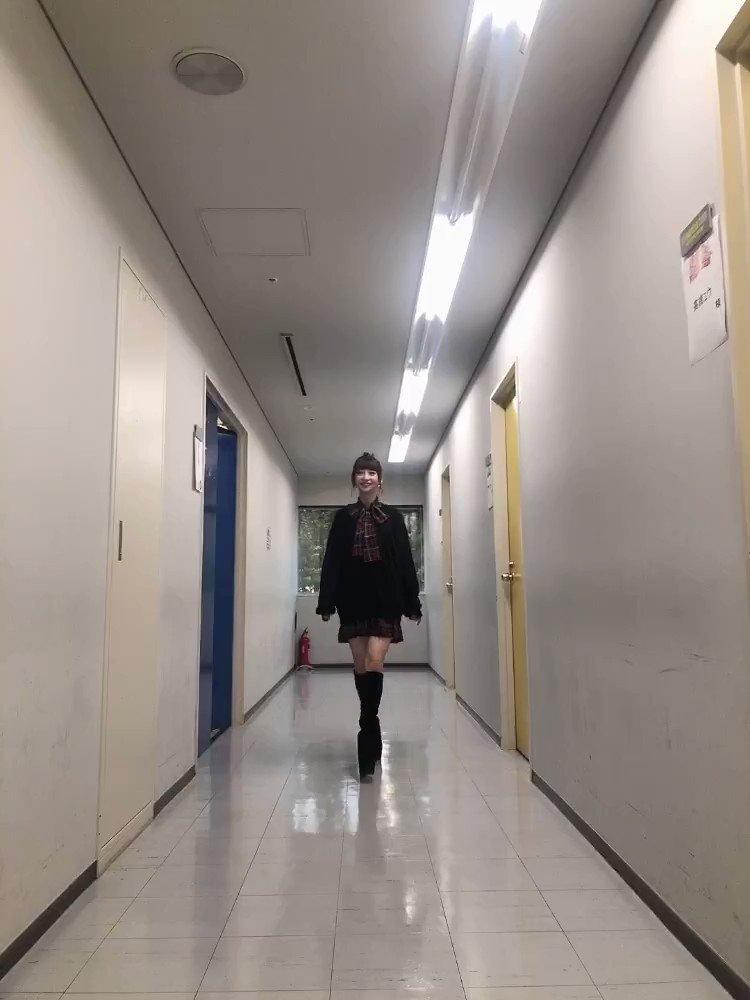 今日もとっても可愛い衣装だったので沢山動画とってしまいました!😂❤️みやぞんさんとあらぽんさんも写ってくださいました😂😂