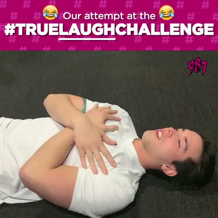 We saw the #TrueLaughChallenge circulating the interwebs and we couldnt NOT try it. So the DJs decided to give it a go - but to be honest, were not sure if this challenge really shows their true laughter or they are just laughing at each others faces. 😂🤣