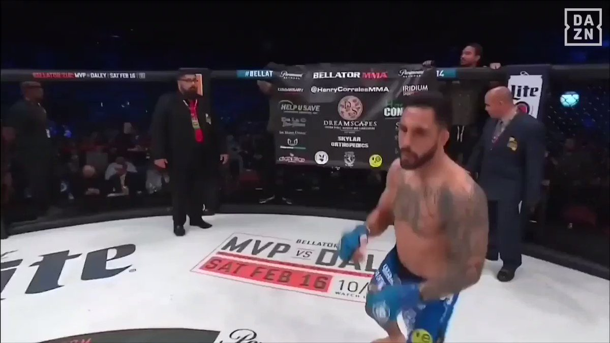 "Two Minute #BREAKDOWN: @HenryCorrales86 Smashes The Body to Create the Opening to #BINK his man.  Don't succumb to ""Resulting"".  Full Credit to Henry!  @BellatorMMA FW WGP continues Set 28 on @DAZN_USA.  Enjoy The Hostilities My Friends.   @PatricioPitbull @jarchmma @joerogan"