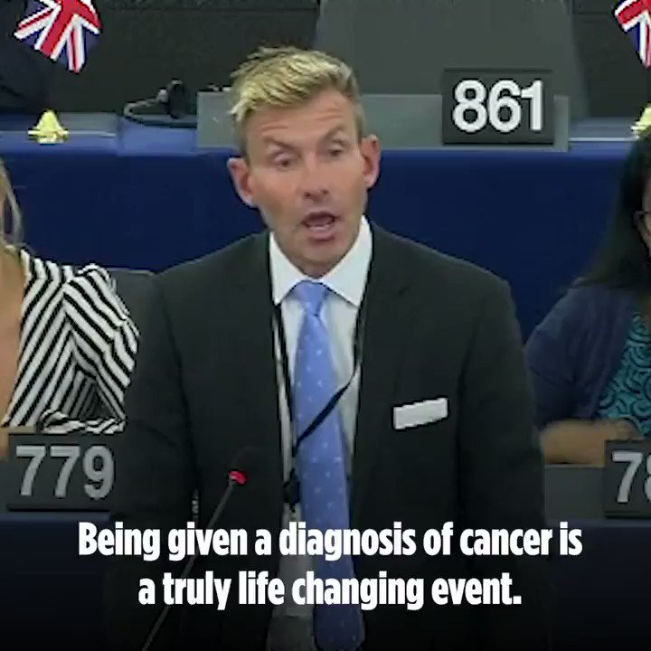 "Playing political games with people's lives is never acceptable."" Watch @drdavidbull hit back at absurd scaremongering about medicine shortages for cancer patients ⬇️"