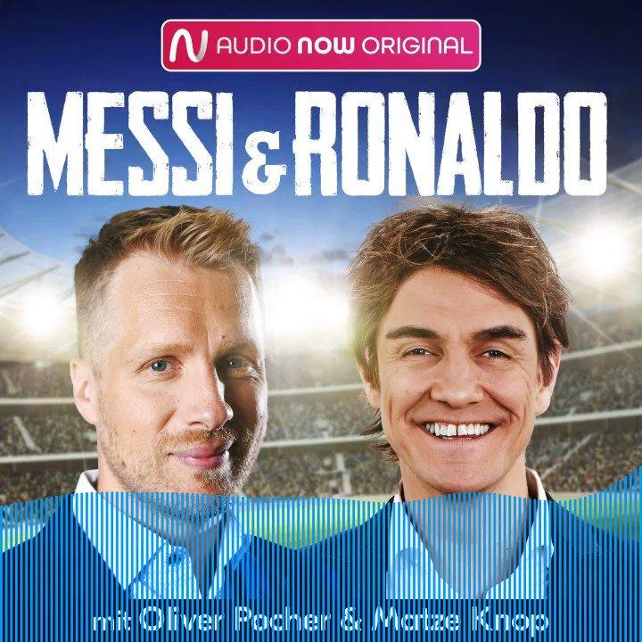 Die neue Podcast-Folge Messi&Ronaldo ist online. Jetzt anhören !!! @oliverpocher Themen: Torwartstreit, FC Bayern, Oli in Tansania, Schalke hätte Ribery kaufen sollen, Ronaldo, Hummels immer besser u.v.m. #fussball #sport #podcast
