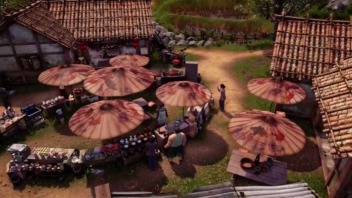What if Shenmue III were just a peaceful life-sim with beautiful towns, interesting people, and fun mini games? Im looking forward to playing that way as much as the game allows!