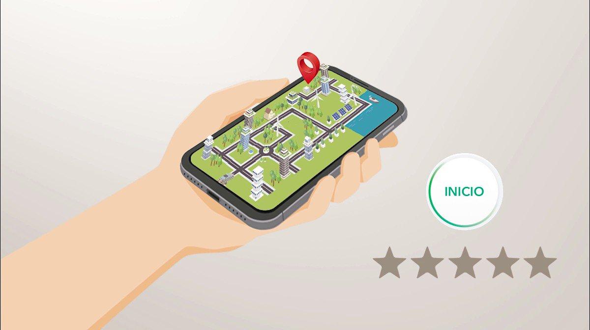¿Qué significa ser un buen conductor? 🤔 La app @DriveSmartES te enseña a serlo de manera didáctica; registra tus viajes, aprende a mejorar al volante y obtén recompensas al superar objetivos. Sigue todas las soluciones de #MovilidadSostenible en #SEM2019. repsol.info/34RdjcF