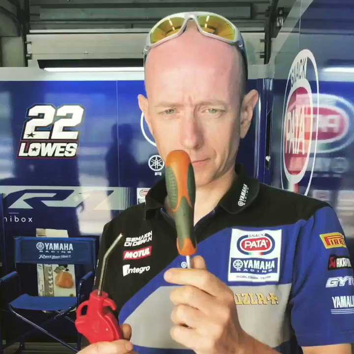 "🇪🇸 So much for ""Magic:"" @mickeyvdmark! He got comprehensively outmagiced (is that a word?) by mechanic Pete at the R1 Press Test in Jerez. If you can do better then tweet us your attempt! #Abracadabra 
