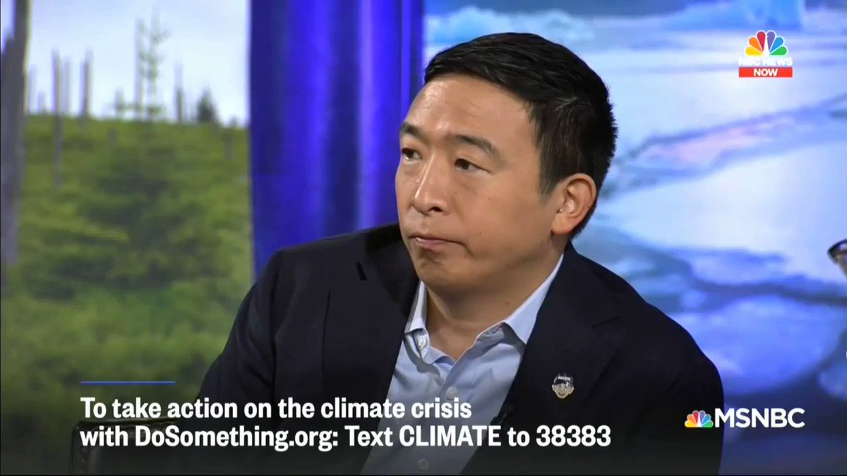 Andrew Yang's Climate Change Plan Includes Taxing Cow Farts