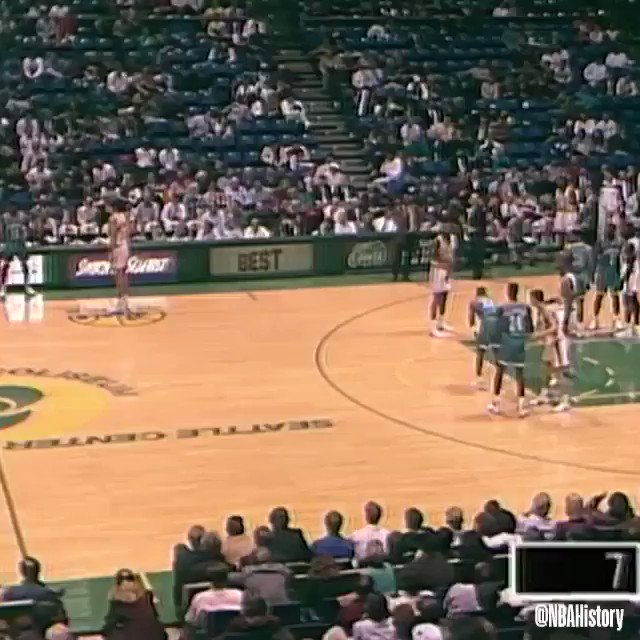 Larry Johnson calls GAME during his rookie season in '92! #NBARookieWeek