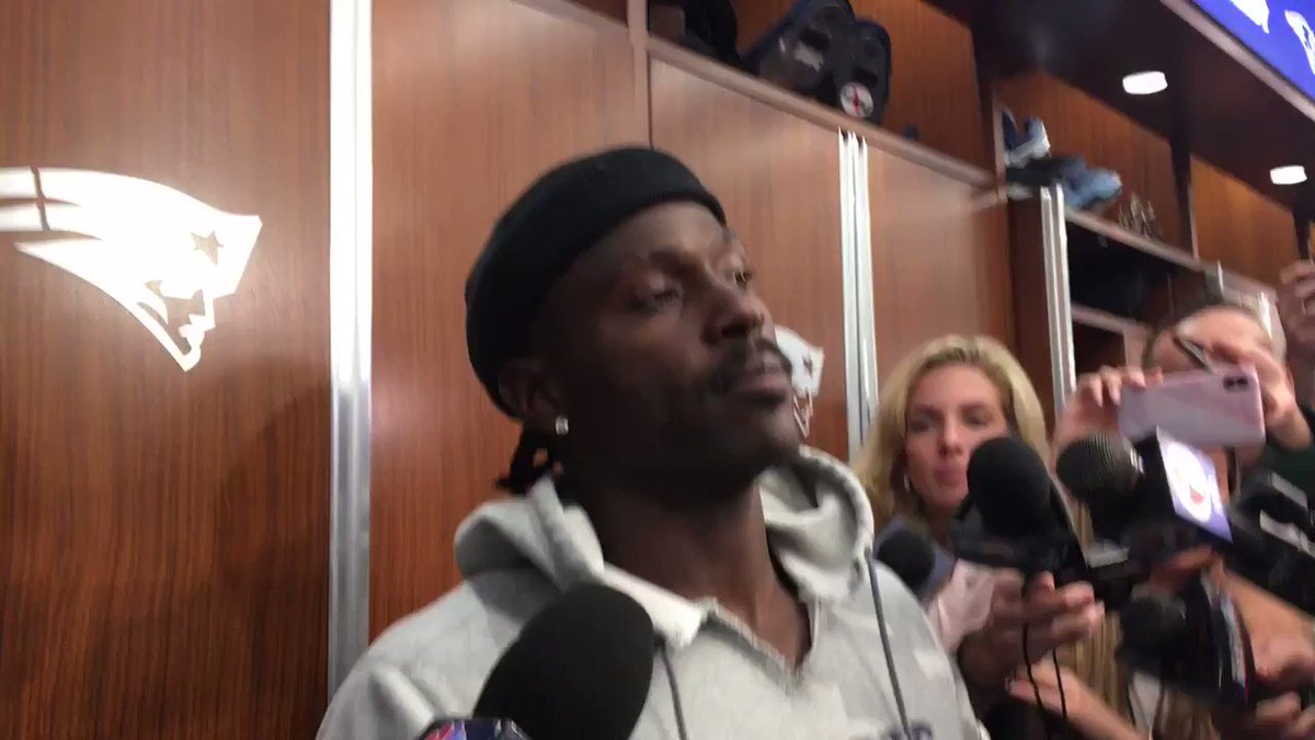 Antonio Brown Issues First Public Comment Since Joining Patriots