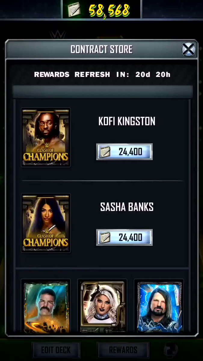 •Cashing In On The BOSS 🔥💸🤩 @WWESuperCard #WWESuperCard #SummerSlam19 #SS19 #MITB #MoneyInTheBank