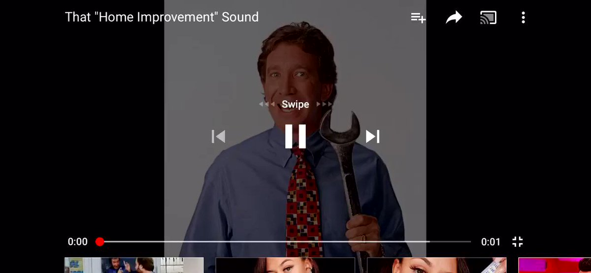 """Alternate universe where instead of snitching, Tim Allen becomes a Pusha T like coke rapper but instead of the """"eghck"""" adlib like Pusha does, it's the Home Improvement grunt"""