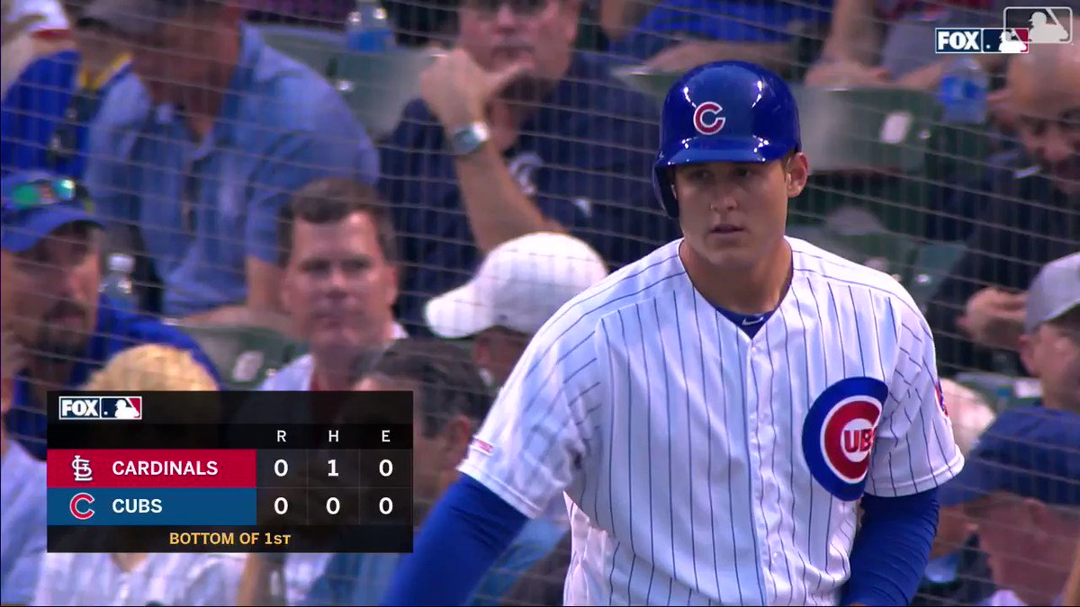 Anthony Rizzo used a WWE legend's theme music in surprise return