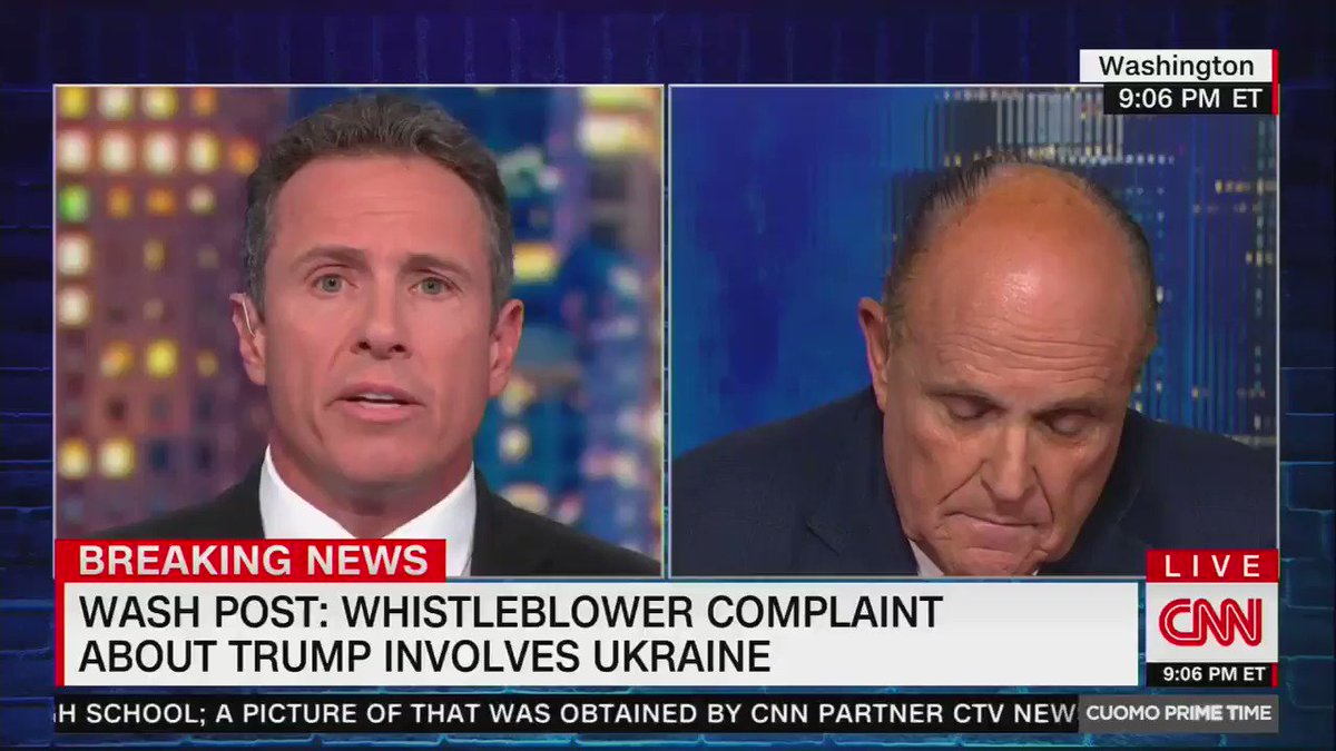'Bats**t Crazy': Twitter Users Shred Rudy Giuliani's CNN Antics