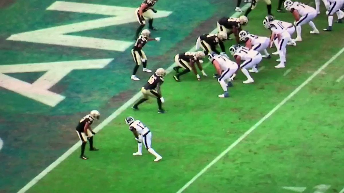 .@RamsNFL @brandincooks made 2 sensational catches on Sunday v @saints that lead directly to 10 points. Not sure which one was better. I will let you the fans decide. #BaldysBreakdowns