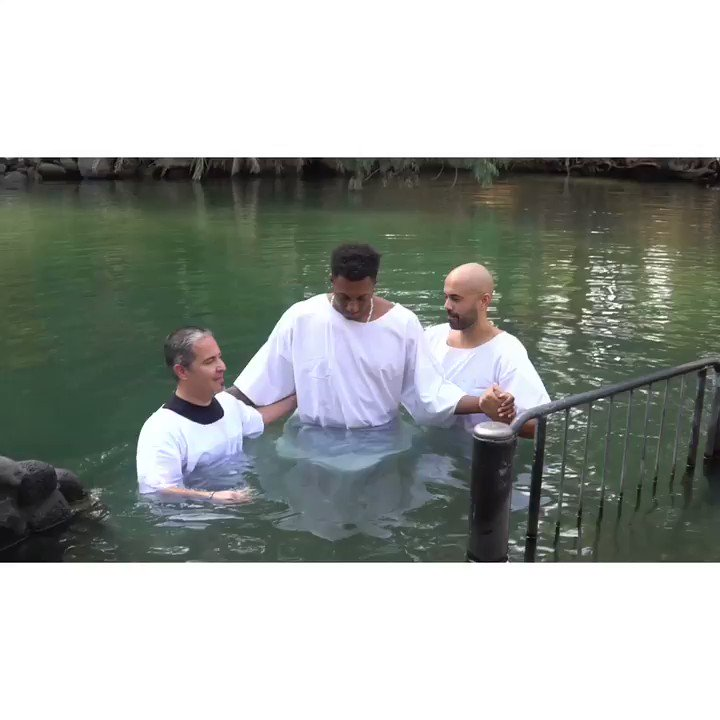 Can't be baptized in the Jordan river and make the same old music. This new album is gonna be special.
