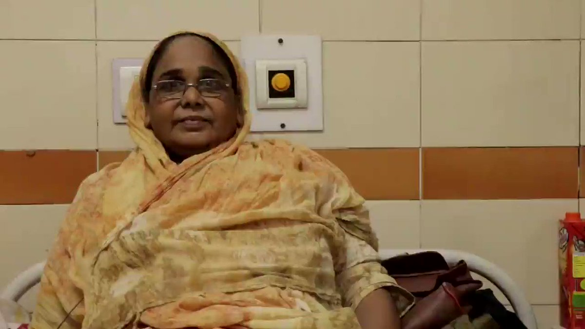 #BeneficiarySpeaks - A patient at Jag Parvesh Chander Hospital talks about the hospital staff and the #HappinessTherapy session. Its pleasing to see the vision and efforts of Honble Health Minister @SatyendarJain, GNCTD and Hospitals come to fruition.