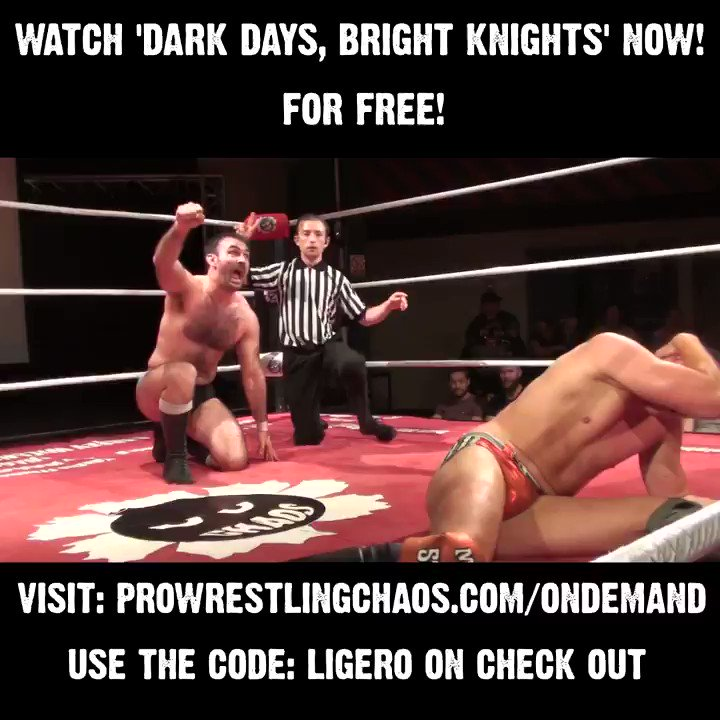 Watch @TheProductDS & @dannyjoneswres batter each other in a Match of the Year contender. For FREE! Use the code LIGERO on check out from our On Demand here: http://bit.ly/2YG4JtD (Includes 60+ shows, cancel anytime) Plus events from @ReachWrestling @UPW_UK & @ShropshireWres