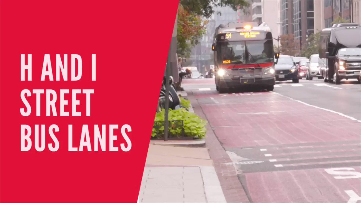 Dedicated bus lanes in downtown D.C. will be made permanent